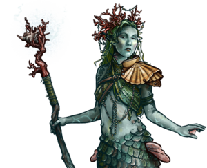 Merfolk Enchantress Potrait