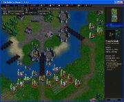 The Siege of Elensefar Engaging - A