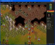 The Siege of Elensefar - into the cave (Bottleneck fight)