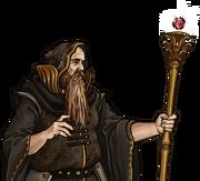Human Mage arch Potrait