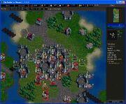 The Siege of Elensefar - marching into the city - E