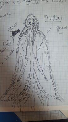 Malphas sketch by Elias Underfoot