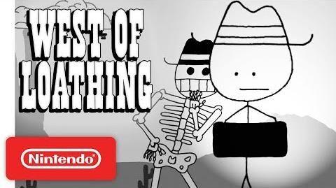 West of Loathing Launch Trailer - Nintendo Switch