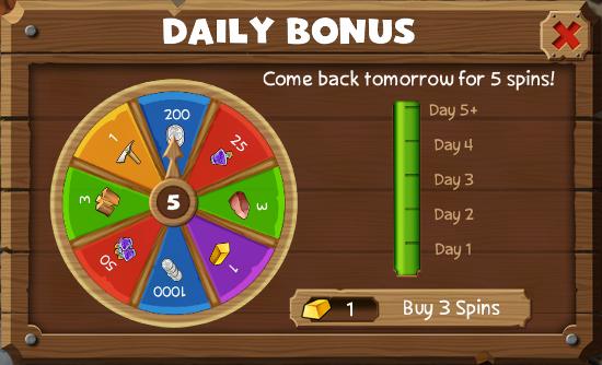 Daily Bonus Wheel | Westbound Wiki | FANDOM powered by Wikia