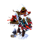 Le083 festive birdhouses ea market