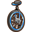 Wt unicycle collectable doober