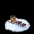 Le091 husky sled ea last