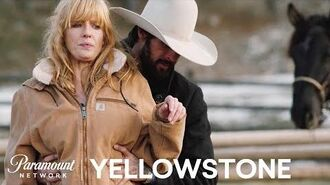 'Walker Shows Beth How to Ride 'Em Out' Feat. Ryan Bingham Yellowstone Paramount Network