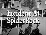 Incident at Spider Rock