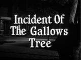 Incident of the Gallows Tree