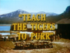Teach the Tigers to Purr