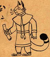 Felis Scroll