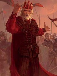 Aerys II Targaryen ten tijde van Schemerdel - Marc Simonetti