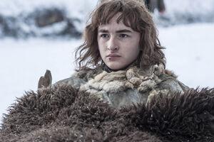 Bran Stark achter de Muur