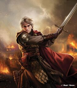 Aegon I Targaryen - Magali Villeneuve