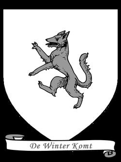 Wapenschild Huis Stark