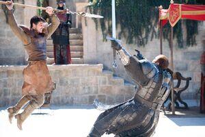 Oberyn en Gregor