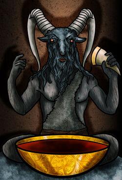 Zwarte Geit van Qohor - Klaradox