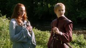 Joffry Baratheon en Sansa Stark
