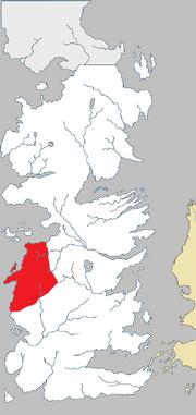 Westlanden in Westeros