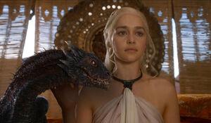 Daenerys en Drogon