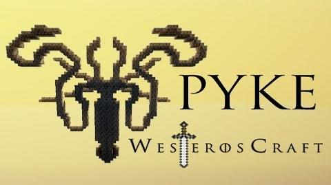 Game of Blocks Game of Thrones - Pyke in Minecraft