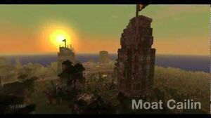 Moat Cailin - Minecraft