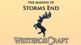 WesterosCraft Timelapse The Making of Storm's End