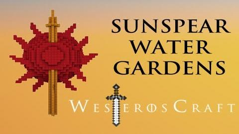 Game of Blocks Game of Thrones - Sunspear Water Gardens in Minecraft-2