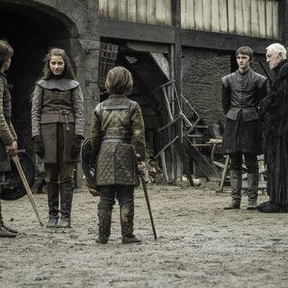 Lyanna z braćmi w wizji Brana.