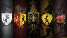 War of the five kings wallpaper by magnaen-d53mb6w