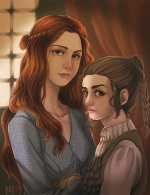 Sansa i Arya