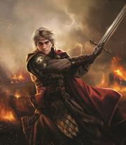 Aegon Targaryen podczas bitwy