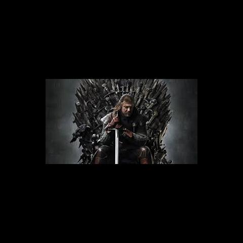 Lord Eddard Strak na Żelaznym Tronie
