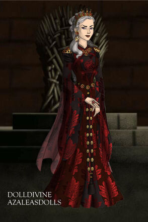 Queen rhaenyra of house targaryen by daenathedefiant-d6sb3ut