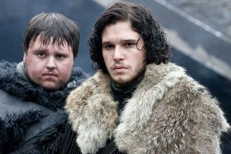 Jon-Snow-Samwell-Tarly-Game-Of-Thrones-Season-2