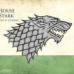 Herb rodu Stark.