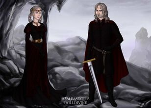 Rhaenyra i and daemon targaryen by lenore08-d75f129