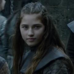 Młoda Lyanna.