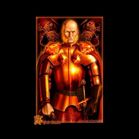 Karta przedstawiająca Tywina Lannistera