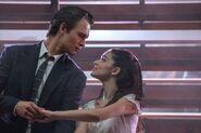 Ansel Elgort and Rachel Zegler as star-crossed Tony and Maria