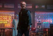 Steven Spielberg with Rita Moreno