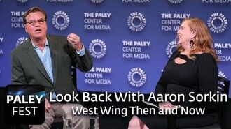 A Look Back With Aaron Sorkin - West Wing Then and Now