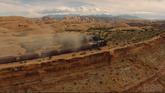Train panorama
