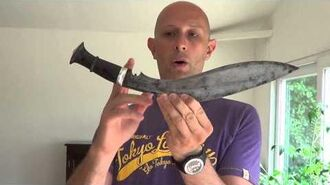 Gurkha kukri - more info about their use and design historically
