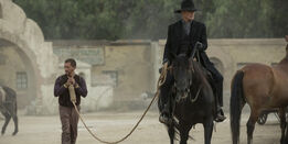 Clifton-Collins-Jr-and-Ed-Harris-in-Westworld
