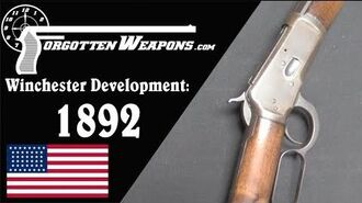 Winchester Lever Action Development Model 1892
