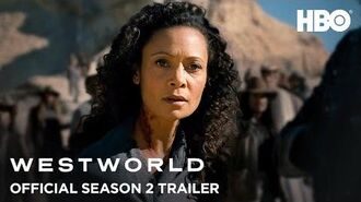 Westworld Season 2 Official Trailer HBO