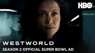 Westworld Season 2 Official Super Bowl LII Ad HBO-0