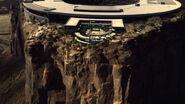 Mesa gold bar at top